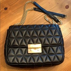 Michael Kors Bags - Michael Kors Sloan XL Leather Shoulder Bag
